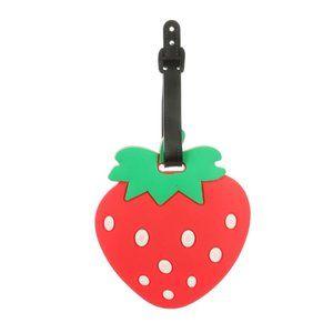 Handbags - LUGGAGE TAG ~ Strawberry